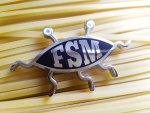 FSM - Flying Spaghetti Monster Geocoin