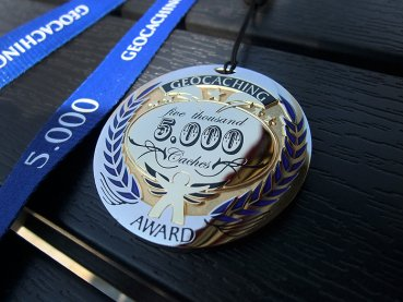 Award Geocoin *5000*